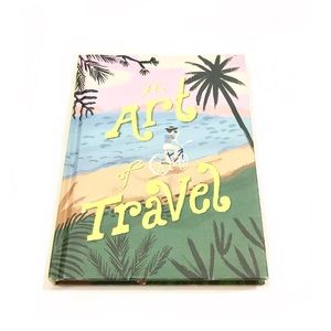 Anthropologie The Art Of Travel Journal Book NWT